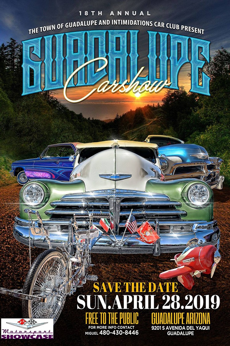 Save the Date for the 2019 Guadalupe Car Show! Click on the link to register https://motorsportshowcase.com/index.php/msblvd/events-calendar/viewevent/69-2019-guadalupe-car-show